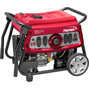Powermate 6958, 7500/6750 Watts, Portable Generator, Gasoline/LP, Electric/Recoil Start, 120/240V