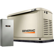 Generac 7039,18/20kW,120/240 1-Phase,Air Cooled Guardian Generator,NG/LP,Alum. Encl.,200A SE Switch