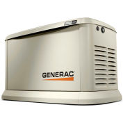 Generac® Guardian 24kW 120/240V 1 Phase Air-Cooled Standby Generator, NG/LP, WiFi Enabled