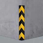 "Global Industrial™ Rubber Corner Guard 90°, Medium Duty, 31""L"