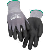 Global Industrial™ Micro-Foam Nitrile Coated Nylon Gloves, 15-Gauge, Medium, 1 Pair - Pkg Qty 12