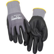 Global Industrial™ Nitrile Coated Nylon Gloves, 15-Gauge, X-Large, 1 Pair - Pkg Qty 12
