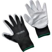 Global Industrial™ Foam Nitrile Coated Gloves, Gray/Black, Medium, 1-Pair - Pkg Qty 12