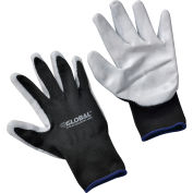 Global Industrial™ Foam Nitrile Coated Gloves, Gray/Black, X-Large, 1-Pair - Pkg Qty 12