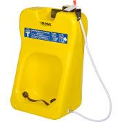 Global Industrial™ Gravity Fed Portable Eyewash Station, 20 Gallon
