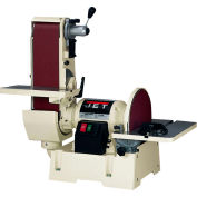 "JET 708599 Model JSG-6DC 1-1/2HP 1-Phase 115/230V 6"" x 48"" Belt / 12"" Disc Sander"