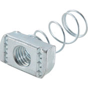 """Global Industrial 1-5/8"""" Channel Nut P1010egs, Electro-Galvanized, 1/2-13 - Pkg Qty 25"""