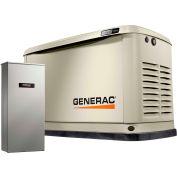 Generac® 7172 - 10/9 kW 120/240V 1 Phase Air-Cooled Standby Generator, NG/LP, Aluminum Enclosure