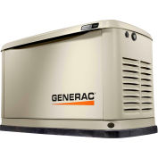 Generac® Guardian 14kW 120/240V 1 Phase WiFi-Enabled Air-Cooled Standby Generator, Gas/LP