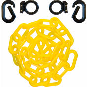 Loading Dock Kit with Plastic Chain, Black/Yellow