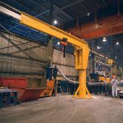 Abell-Howe® Heavy Duty Floor Crane 4B0906 6000 Lb. Cap. 16' Span 12' Under Beam Height