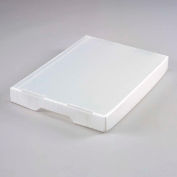 Corrugated Plastic Tote Lid Natural - Pkg Qty 10