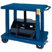 Wesco® Battery Operated Work Positioning Post Lift Table 261107 6000 Lb. Cap. 48x32 Platform