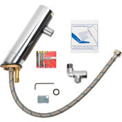Global Industrial™ Deck Mounted Sensor Faucet, 1 GPM, Chrome