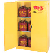 Eagle Flammable Cabinet with Manual Close Double Door 45 Gallon