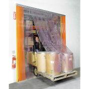 Global Industrial™ Scratch Resistant Strip Door Curtain 12'W x 10'H