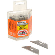 Durable Steel Retractable Blade Refills - 100 Pack