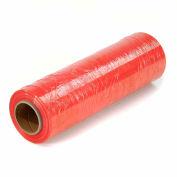 """Red Stretch Wrap 18"""" x 1500' x 80 Gauge - Pkg Qty 4"""
