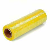 """Yellow Stretch Wrap 18"""" x 1500' x 80 Gauge - Pkg Qty 4"""