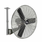 "Global Industrial™ 30"" Deluxe Industrial Ceiling Mounted Fan, Oscillating, 10000 CFM, 1/2 HP"
