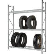 "Global Industrial™ Truck Tire Rack 3 Tier Starter 72""W x 24""D x 120""H"