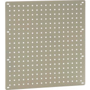 "Global Industrial™ Heavy Duty Steel Pegboard 18"" x 19"" Tan"