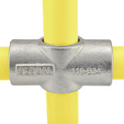 "Global Industrial™ Pipe Fitting - Two Socket Cross 1-1/2"" Dia."