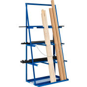 "Global Industrial™ Vertical Bar Rack 39""W x 24""D x 84""H - 3000 LB Capacity"