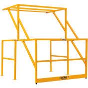 Global Industrial™ Mezzanine Safety Pivot Gate K/D