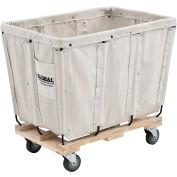 Global Industrial™ KD, 8 Bushel, Canvas Basket Bulk Truck
