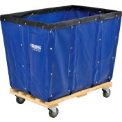 Global Industrial™ KD, 16 Bushel, Blue Vinyl Basket Bulk Truck