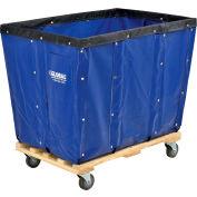 Global Industrial™ KD, 16 Bushel, Blue Vinyl Basket Bulk Truck