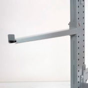 """Cantilever Rack Straight Arm With 2 Inch Lip, 24"""" L, 2400 Lbs Capacity"""