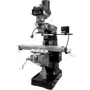 JET® 894139 ETM-949 Mill,3-Axis ACU-RITE 303 (Quill) DRO,X-Axis JET Powerfeed,USA Pwrd Draw Bar