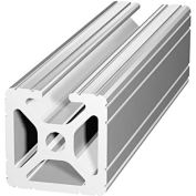 """80/20 1001-242 1"""" X 1"""" T-Slotted Profile, 242"""" Stock Bar"""