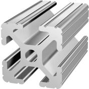 """80/20 1010-242 1"""" X 1"""" T-Slotted Profile, 242"""" Stock Bar"""