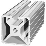 "80/20 1501-242 1-1/2"" X 1-1/2"" T-Slotted Profile, 242"" Stock Bar"