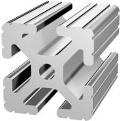 """80/20 1515-242 1-1/2"""" X 1-1/2"""" T-Slotted Profile, 242"""" Stock Bar"""