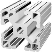 "80/20 1515-Lite-242 1-1/2"" X 1-1/2"" Lite T-Slotted Profile, 242"" Stock Bar"