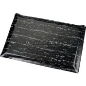 Marbleized Top Ergonomic Mat 3x60 Foot Black