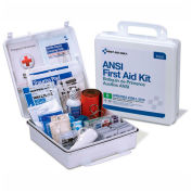 First Aid Only™ 90566 First Aid Kit, 50 Person, ANSI Compliant, Class B, Plastic Case