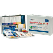 First Aid Only™ 90671 50 Person Contractor First Aid Kit, ANSI Compliant, Class A, Metal Case