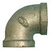 BMI Canada MGL9012 90 Elbow 150# Galvanized Malleable - 1-1/4''