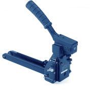 """American International Manual Carton Stapler for 3/4"""" & 5/8"""" Staples, 100 Staple Capacity, Blue"""