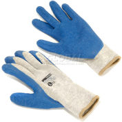 PIP Latex Coated Cotton Gloves, Medium - 12 Pairs/Pack