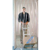 Pedestrian Strip Door Curtain 4'W x 7'H