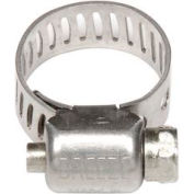 "Mini Hose Clamp - 7/32"" Min - 5/8"" Max  - 10 Pack - Pkg Qty 10"