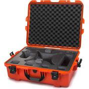 """Nanuk 945 Waterproof DJI Phantom 4 Hard Case 945-DJI43 w/Foam 25-1/8""""L x 19-7/8""""W x 8-13/16""""H Orange"""