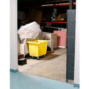 Global Industrial™ Single Folding Security Gate 7-1/2'W x 8'H