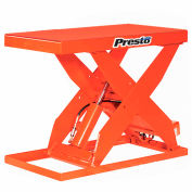 PrestoLifts™ HD Scissor Lift Table XL36-20F 48x24 Foot Operated 2000 Lb.